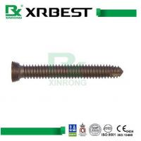 China Orthopaedic Trauma Thread Locking Screws , Stainless Steel / Titanium Surgical Screws wholesale