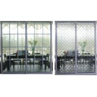 Buy cheap Frosted Glass Metal Room Divider, Interior Partition Sliding Doors With Aluminum Frame product