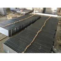 Buy cheap Professional Granite Step Treads Dark Grey Color 175MPA Compressive Strength product