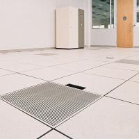 Buy cheap 2Mm Indoor Anti Static PVC Flooring 600*600mm For Server Room / Data Room product