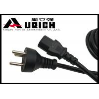 Buy cheap 100% Copper Danish Power Cord 3 Prong With IEC 320 C13 For Laptop / Notebook product