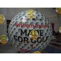 Buy cheap Customized Helium Inflatable Golf Ball Round 2.5m Reusable ASTM product