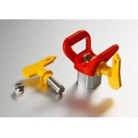 Buy cheap Airless Paint Spray Gun Tips With Tip Base , Spray Equipment Parts product