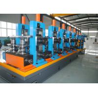 Quality High-frequency Straight Seam ERW Pipe Mill Line / SS Tube Mill Machine for sale