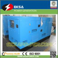 China Silent type 125kva Deutz water cooled low fuel consumption diesel generator competitive price with CE certification on sale