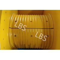 Buy cheap Hydraulic Winch Drum With Rope Groove Lebus Sleeves 20KN 30KN 50KN product