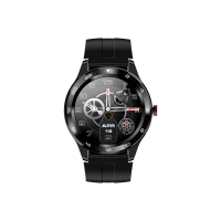 China Round 5ATM BLE5.0 1.3 250mAh Heart Rate Monitor Smartwatch on sale