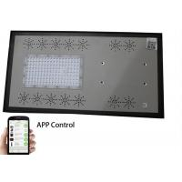 Buy cheap IP65 All In One Solar Street Light With Blue Strip , Smart Mobile Phone App Control product
