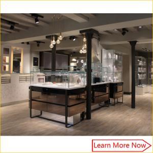 China Glass jewelry display furniture, glass display counter showcase, glass showcase jewelry vitrine on sale