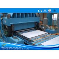 Buy cheap Color Steel Cut To Length Line Machine Blue Colour Full Automatic PLC Control product