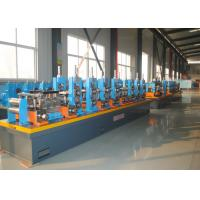 Buy cheap High Frequency Welding ERW Pipe Mill , Carbon Steel Tube Making Machine product