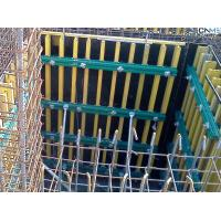 Buy cheap Retaining Wall Formwork Economic Simple Timber Beam Formwork For Curve product