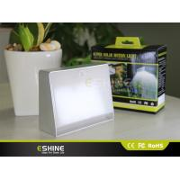 Buy cheap 350 Lumens Solar Sensor Wall Light 2.2W wireless Pir solar indoor light product