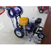 Quality 2 Gun Commercial Road Line Marking Machine With Piston Pump for sale