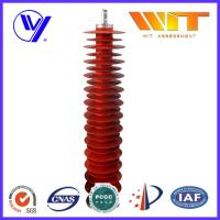 Buy cheap 110KV Metal Zinc Oxide Lightning Surge Arrester Used in Substation Over Voltage Protection product