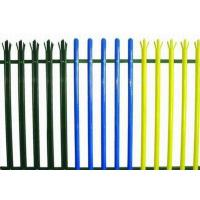 Buy cheap Colorful Triple Pointed Palisade Steel Security Fencing Anti Theft With Low Carbon Steel product