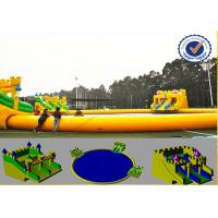 Buy cheap Water Proof 30m Water Park Equipment With Fabric Reinforced 0.9mm PVC Tarpaulin product