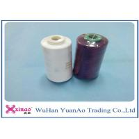 Buy cheap 100% Spun Polyester Yarn 1.33D * 38mm Sewing Thread 40S/2 For Sewing product