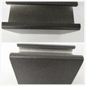 Buy cheap Black Extruded Aluminum Electronics Enclosure / Electrolytic Coated Aluminum Alloy Profiles product