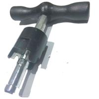 Buy cheap PAP pipe rounder plastic bar gauge with reamer for PEX-AL-PEX product