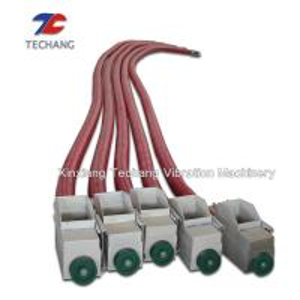 China Durable Flexible Screw Conveyor , Industrial Material Handling Equipment on sale