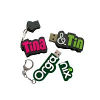 Quality letter shaped usb flash drive for sale