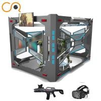 Buy cheap Multiplayer shooting 9d vr flight game experience center 9d vr simulator product