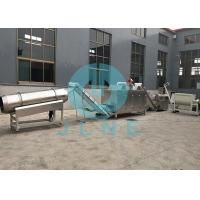 Quality 1.1kw Floating Fish Feed Machine / Pet Food Pellet Machine 300 ~ 350kg/h for sale