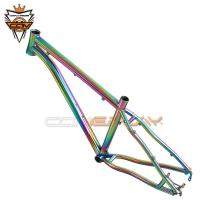 China Tapered 26 Hardtail Mountain Bike Frames PVD Anoxide Electric Plating on sale