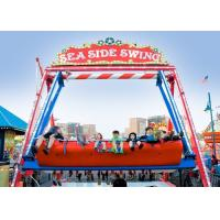 Buy cheap Double Sided Pirate Ship Amusement Ride With Dynamic Music And Gorgeous Lights product