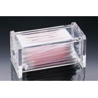 Buy cheap Reasonable Price Acrylic Cotton Swab Box With Customer's Design product