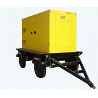 Buy cheap Yuchai 250KVA Electric Diesel Generator Silent Type With 4 Wheels product