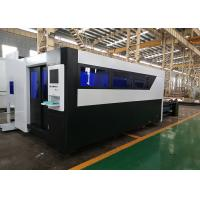 Buy cheap Metal Plate 4Kw Fiber Laser Cutting Machine With Working Table 2000x6000mm product