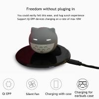 China Qi Wireless Charger Wireless Phone Charger for Android Wireless Charging of Cell Phones on sale