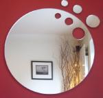 Buy cheap Feuilles acryliques de miroir de forme créative de haute qualité product