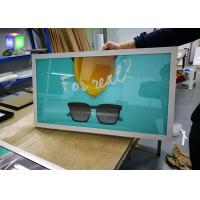 China A3 Aluminum Poster Frame , Picture Frame Slim Led Light box For Movie Poster wholesale