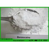 Quality Pain Reliever Local Anesthetic Agents Powder Benzocaine CAS 94-09-7 for Brail & UK  Market for sale