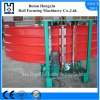 Buy cheap Vertical Metal Roof Panel Machine, 0.3 - 0.8mm Thickness Corrugated Metal Machine product