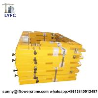China Tower Crane Anchorage Frame Steel Parts Tie Frame Tie in on sale