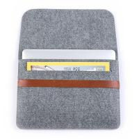 Buy cheap Factory Price 11inch 13inch Felt Laptop Sleeve Bag Lightweight Leather Bags for Macbook pro air.A4 size. product