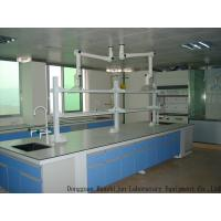 Buy cheap Acid Resistant Wood Lab Furniture Aluminum Alloy Handle 12.7mm Solid Bench Top product