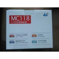 Buy cheap 4G VOIP LTE CPE Router with SIM Card slot, 2 external antenna, 2 RJ11 product