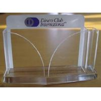Quality Intricate Design Business Card Holders Acrylic Organizer for sale