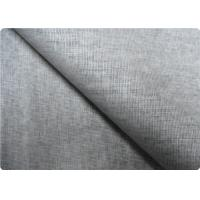 Buy cheap Grey Linen Upholstery Fabric Sportswear / Curtain Lining Fabric product
