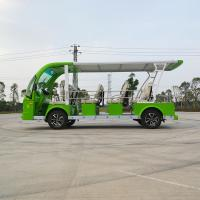 Low Speed Electric Shuttle Vehicles 14 Seaters New Design ISO9001 Certificate