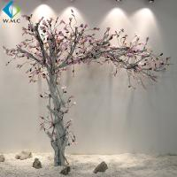 Buy cheap White Trunk Pink Flower Magnolia Fake Tree , Silk Magnolia Tree 2m Height product