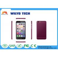 Buy cheap WM10p 5.5 Inch Android Phone Fast Mt6580 Quad Core 2 sim card mobile phone product