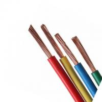 Buy cheap PVC Insulation Electric Cable Wire , Yellow House Wiring Conductors Wires And Cables product