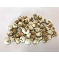 Natural Crunchy Roasted Green Peas Safe Raw Ingredient Cool Condition Storage