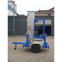Towing Single Mast Aerial Work Plaform For Long Distance Transportation